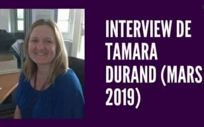 Interview de Tamara Durand