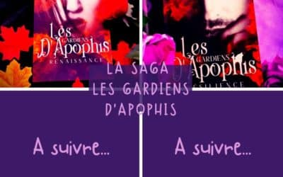 La Saga les gardiens d'Apophis de R.B Devaux