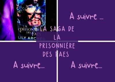 La Saga de la Prisonnière des Faes de Lily Archer