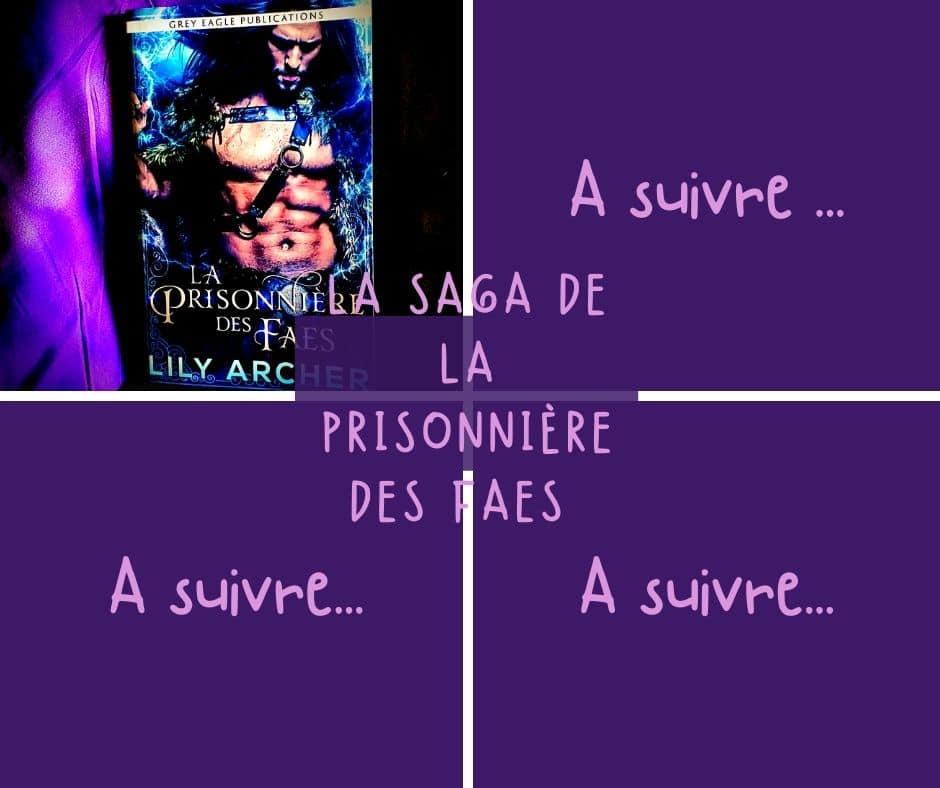 la Saga de la prisonniere des faes de lily archer